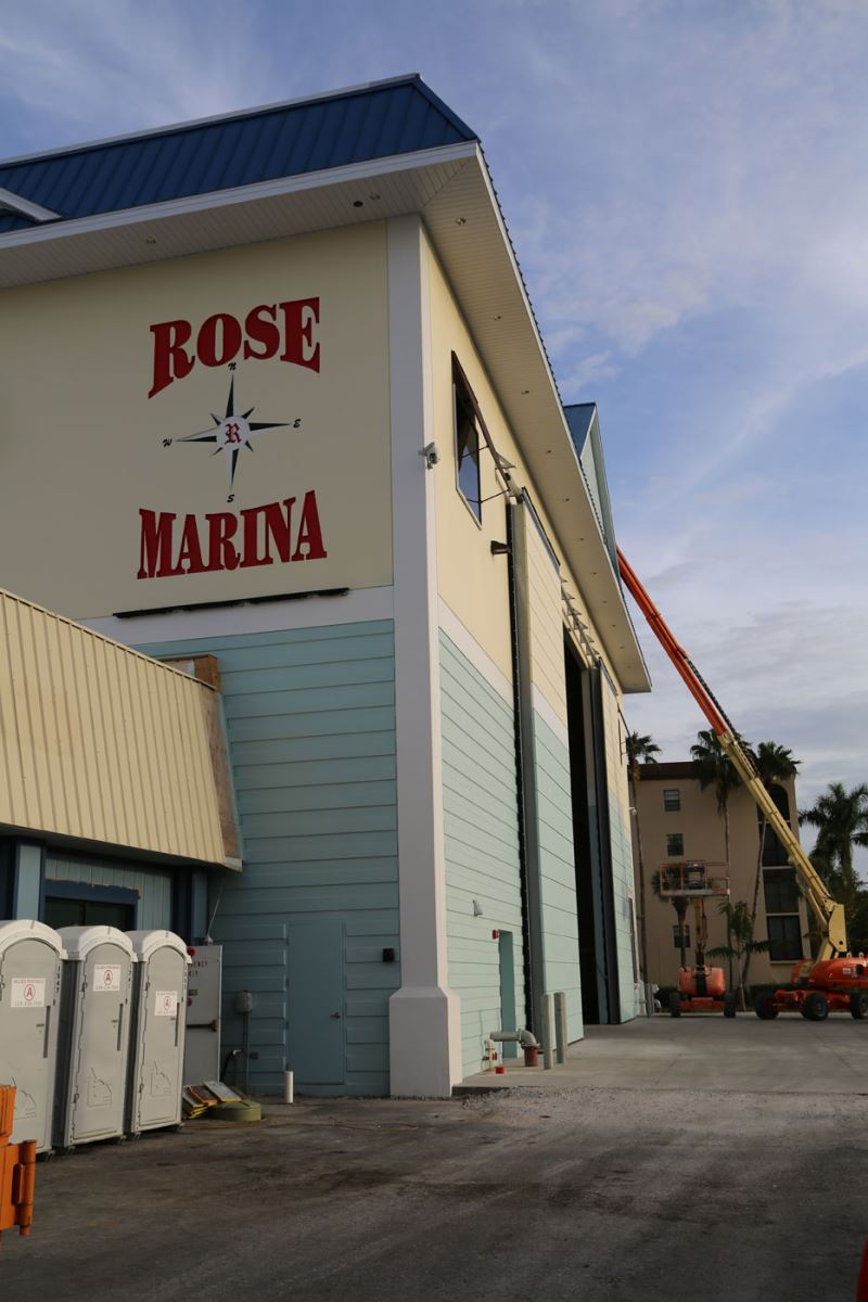 rose marina marco island florida uses well bilt industries bottom rolling door