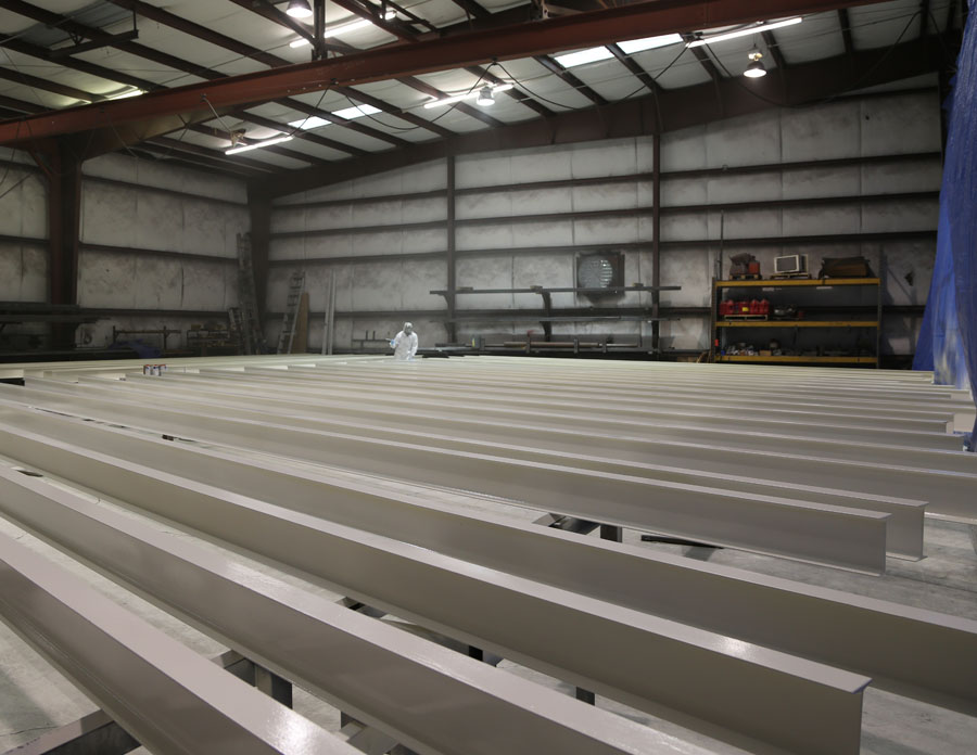 painting well bilt hydraulic door uprights