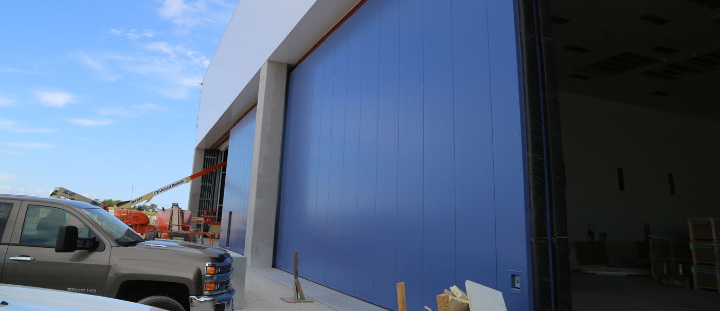 well bilt industries accordion stacking sectional door
