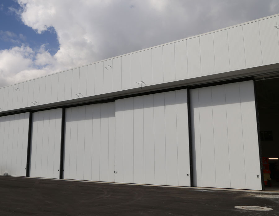 custom installation well bilt industrial doors