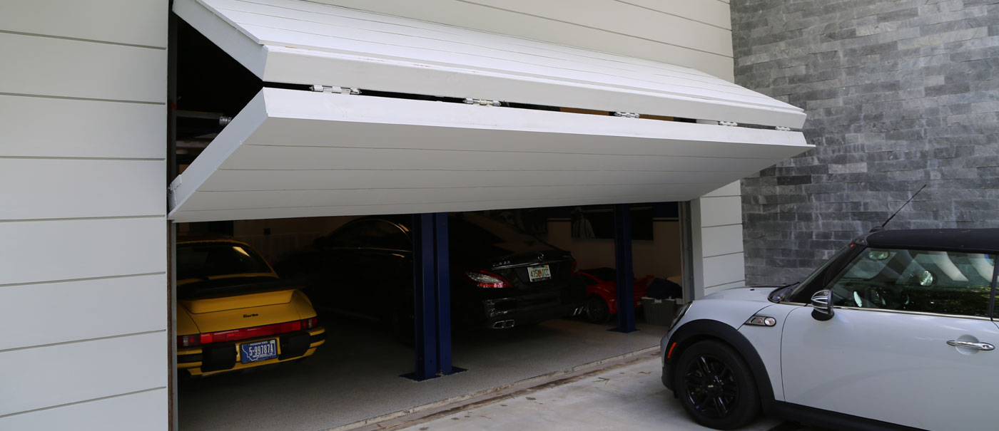 Beau Residential Bi Fold Garage Doors By Well Bilt Industries