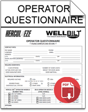 hercul eze hangar door operator questionnaire download