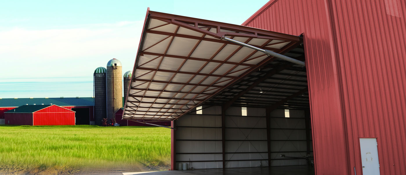 doors for agriculture and machine shed shops to protect your equipment